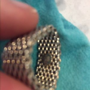 Tiffany & Co. Jewelry - Tiffany mesh sterling silver ring